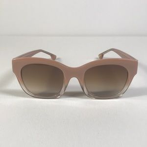 Alice + Olivia sunglasses VICTORIA blush fade